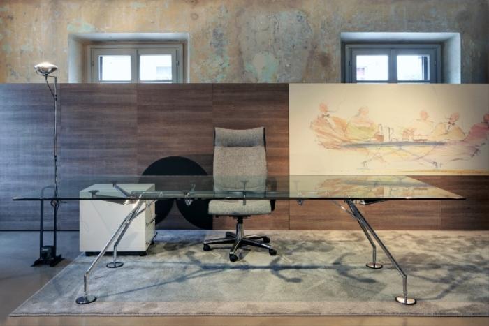 Mobili Per Ufficio Della Rovere : Scrivanie direzionali di alta qualità forniture mobili per uffici