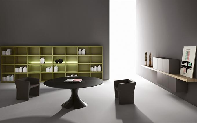 Tavoli tondi e ovali per sala riunioni. Tavoli riunioni in marmo originali