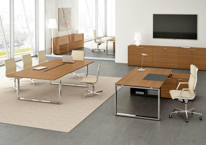Tavoli riunioni moderni e formali arredi per sala for Arredo sala riunioni