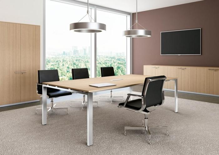 Arredi Per Ufficio Veneto : Arredi per sala riunioni moderna. tavoli per riunioni in legno in