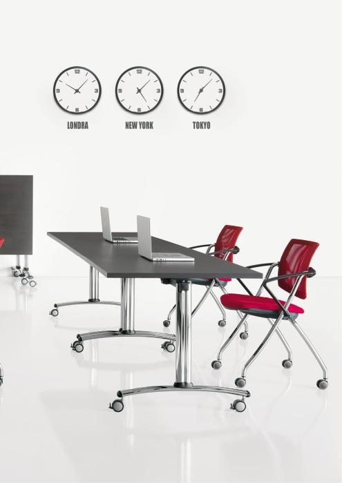 Tavoli Pieghevoli Per Ufficio.Tavoli Con Piano Ribaltabile Tavoli Pieghevoli Su Ruote Semplici