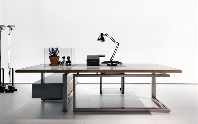 Scrivania Ufficio Bergamo : Scrivanie direzionali designer luca scacchetti a brescia bergamo
