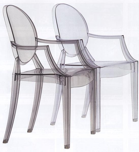 Noleggio arredi per stand e fiere sedie sgabelli tavoli for Sedie in policarbonato trasparente